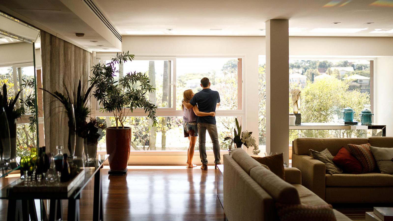 Image of couple in a home